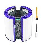 Cobeky Reemplazo purificador de aire limpieza casa filtro Hepa set para TP04 TP05 HP04 HP05 DP04