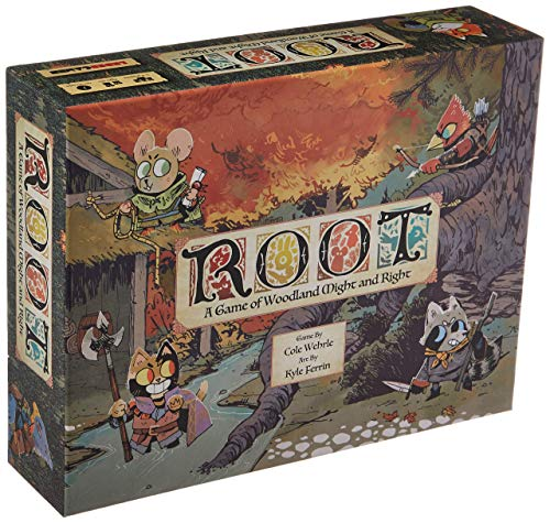 Leder Games Root: A Game of Woodland Might and Right, Adventure and War Board Game for 2 - 4 Players