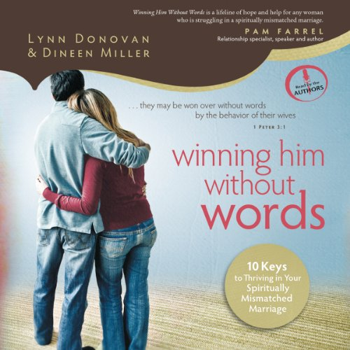 Winning Him Without Words audiobook cover art