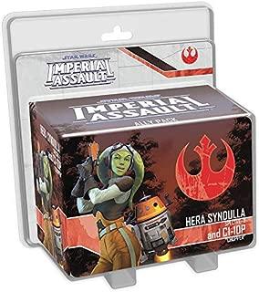 Fantasy Flight Games SWI45 Star Wars: Hera Syndulla and C1-10P Ally Board Game