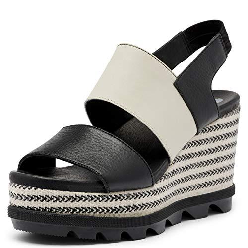 Sorel Women's Joanie II Hi Slingback Sandal - Black, Striped - Size 10