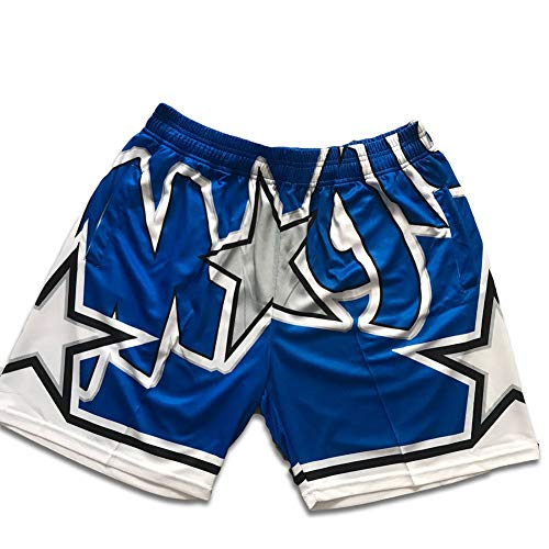 Outdoor #0 Orlando Magic Basketball Weste, Aaron Gordon, atmungsaktiv, klassisches Top oder Shorts Gr. M, Shorts