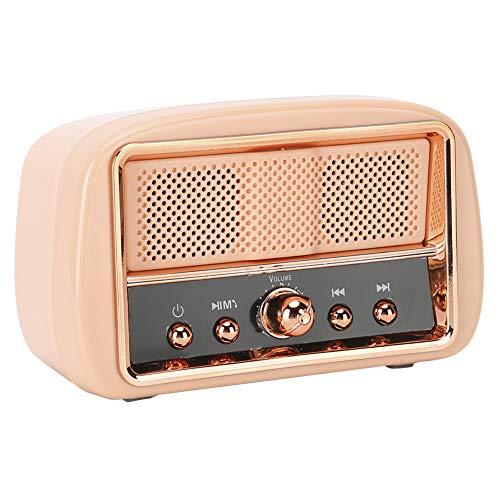 Denash Altavoz Bluetooth inalámbrico Vintage, Calidad de Sonido Retro Claro, Estable, transmisión...