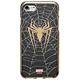 Metal Color Jelly Case with Avengers Character for Samsung Galaxy S10e (Spider Man)