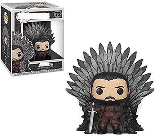 Mdcgok TYRIXEN Funko Pop! Juego de Tronos TJon Snow/Cersei Lannister/Night s King/Tyrion Lannister/Daenerys Figura de acción de Vinilo Muñecas de Juguete 10 cm Figuras de acción Estatuas Juguete Cole
