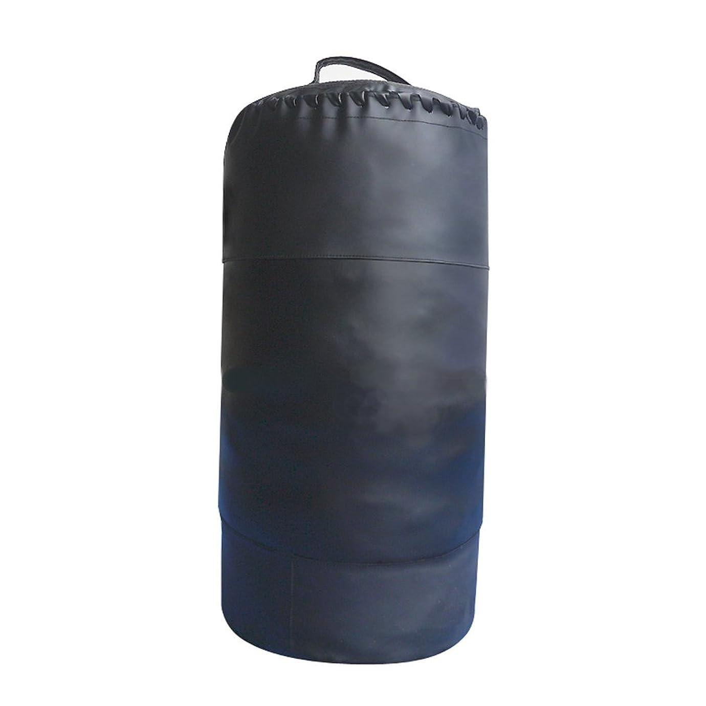 コインランドリー傾いた発疹[WILD FIT ワイルドフィット] タックルバッグ Φ40×70cm 黒