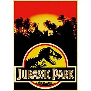 No Jurassic Park Carteles E Impresiones De Películas Arte De La Pared Pintura De La Lona Cuadros De La Pared para La Sala De Estar Decoración del Hogar 50X70Cm Sin Marco