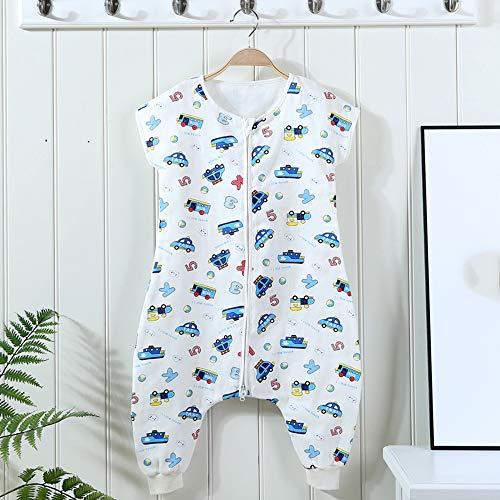 Saco de dormir de algodón para niña y niño