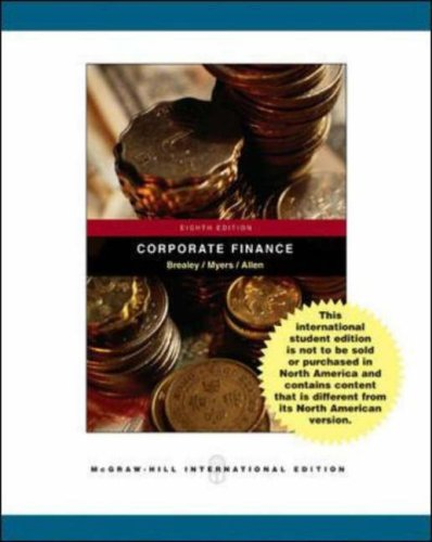 Corporate Finance, w. CD-ROM