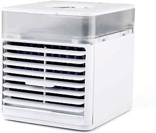 SCKL Ventilador de Escritorio acondicionador de Aire refrigerador de Aire Nuevo Enfriador pequeño Ventilador pequeño Ventilador Enfriador USB Mini portátil de Escritorio móvil de Aire Acondicionado