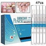 BeautyNeeds 4 Pcs 3ml Nail Fungal Treatment Anti Fungus Toenail Fingernail Nails Repair