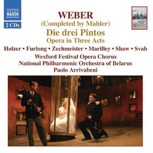 Die drei Pintos, J. Anh. 5 (completed G. Mahler): Act I: Ensemble - Leeret die Becher, mutige Zecher!