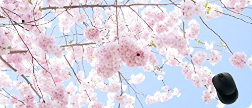 BCQLI Increase The Extension and Widening of The Game Mouse Pad,Cherry Blossoms