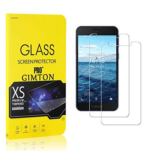 GIMTON Displayschutzfolie für Galaxy A2 Core, 9H Härte, Anti Bläschen Displayschutz Schutzfolie für Samsung Galaxy A2 Core, Einfach Installieren, 2 Stück