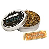 Sacred Eagle Herbal Smoking Blend with Unbleached Rolling Papers (1 oz Tin)