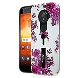 PIXFAB For Motorola Moto E5 Play XT1920 Pink Flower Print