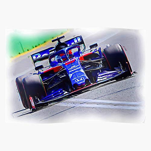 Kvyat ?????? ???? Daniil Motorsport 26 Formula 1 Vyacheslavovich Racing ???????????? I Formula- The Best and Newest Poster for Wall Art Home Decor Room I Customize