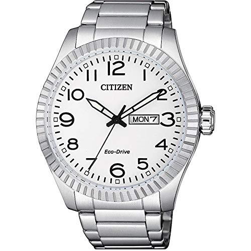 Relógio Citizen Masculino Ref: Tz20779q Eco-Drive Solar Prateado
