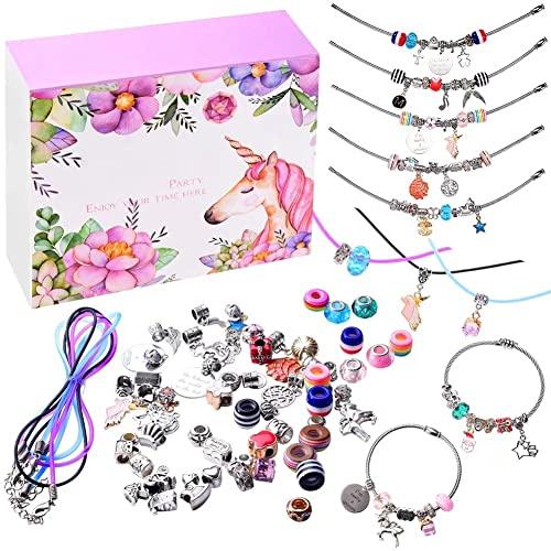 monochef Bracelet Kit, Jewelry Making Supplies Jewelry Gift Set for Girls