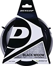 Dunlop Window 17 Gauge Tennis String, Black