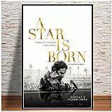 A Star is Born Movie Bradley Cooper Lady GaGa Art Poster