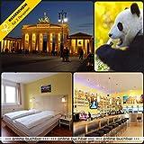 Reiseschein Vale de Viaje – 4 días de Vacaciones Cortas en Berlín en a&o Berlín Mediados & 2 entradas de Berlín Zoo – Vale de Hotel para Viajes Cortos