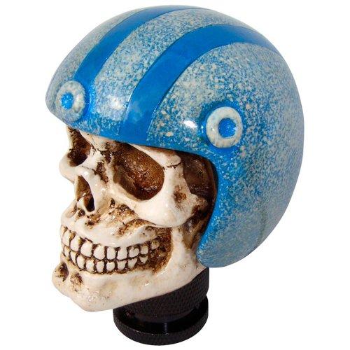 Simoni Racing SKE/B Knob Skull mit Blau Helmet