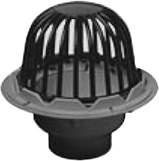 Oatey 78012 PVC Roof Drain with Plastic Dome, 2-Inch