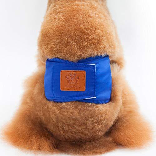 MYYXGS Pantalones FisiolóGicos para Perros Pantalones De Seguridad para Perros Pantalones De Seguridad FisiolóGica contra El Acoso Pantalones FisiolóGicos Menstruales