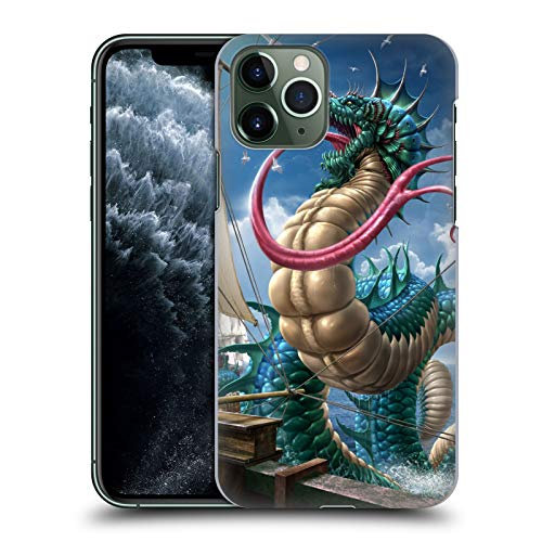 Head Case Designs Offizielle Tom Wood Leviathan Drachen 2 Harte Rueckseiten Huelle kompatibel mit Apple iPhone 11 Pro