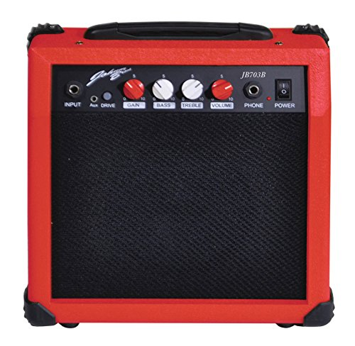 Johnny Brook 20W Portable Guitar Amplifier for Electric and Electro...