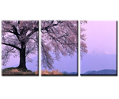 ASIA MODERN ABSTRACT WALL ART PAINTING ON CANVAS NEW Style ! (NO FRAME)with The cherry tree landscape