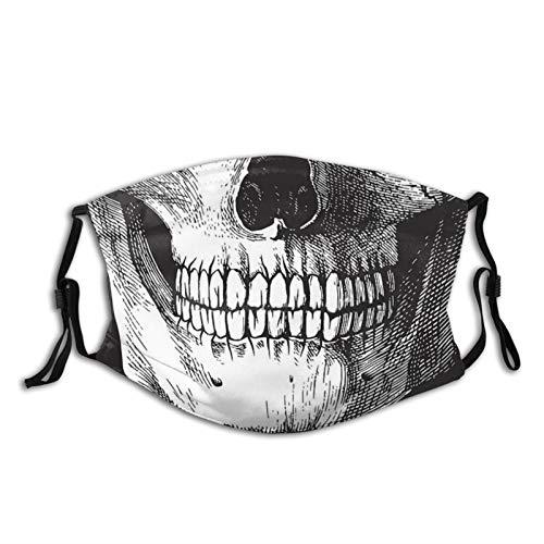 Cool Skull Skull Mask Face Mask Fashion Scarf Reusable Balaclavas for Men Women