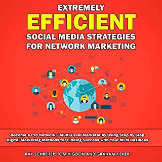 Extremely Efficient Social Media Strategies for Network Marketing cover art