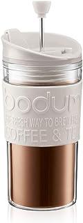Bodum Travel kaffepress, Benvitt, 350 ml