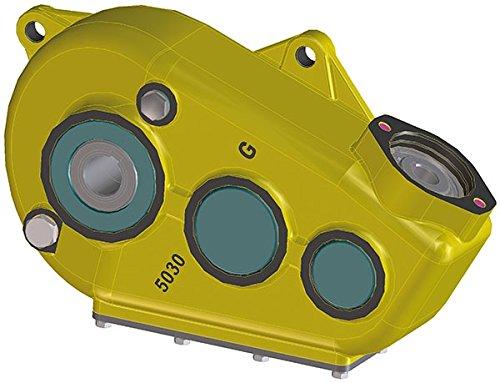 Kratzbodenantrieb - hydraulisches Getriebe 5030 Größe Abtrieb Ø 35mm