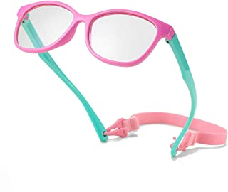 Kids Blue Light Blocking Glasses for Boys Girls, Memory...
