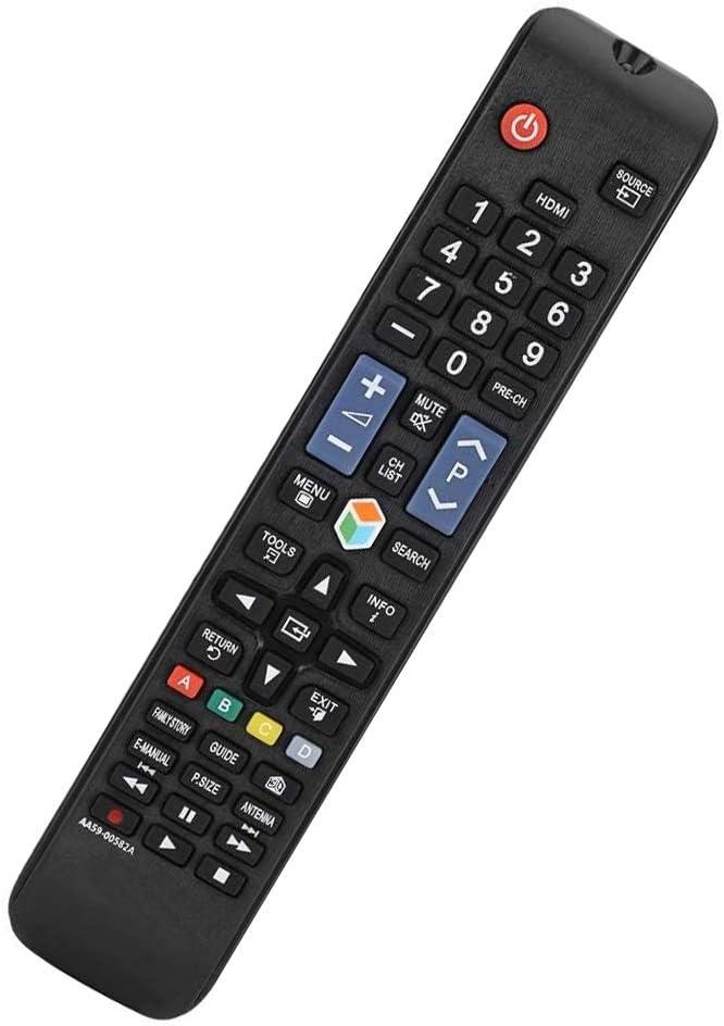 Reemplazo Mando Samsung Smart TV AA59-00582A para Samsung Smart TV AA59-00581A AA59-00790A AA59-00638A