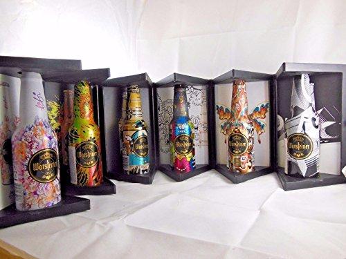 Warsteiner Brauerei Art Collection 20146wunderschön bemalte Flaschen in Display Box