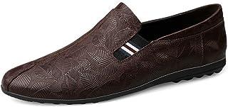 大きいサイズ ドライビングシューズ ローファー スリッポンメンズ 本革 黒 ブラック 白 ホワイト 茶色 ブラウン 超軽量 通気性 ウォーキングシューズ ビジネス デッキシューズ ビジネスシューズ メンズ靴