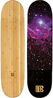 Bamboo Skateboards Nebula Graphic Skateboard Deck, Natural, 7.75