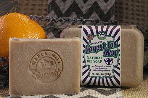 Maple Hill Naturals: Honest for Men Soap 5 Bar Multi Pack