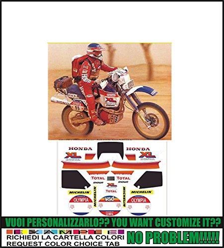 GRAPICHSMOTO Kit adesivi decal stikers HONDA XL 600 R 1984
