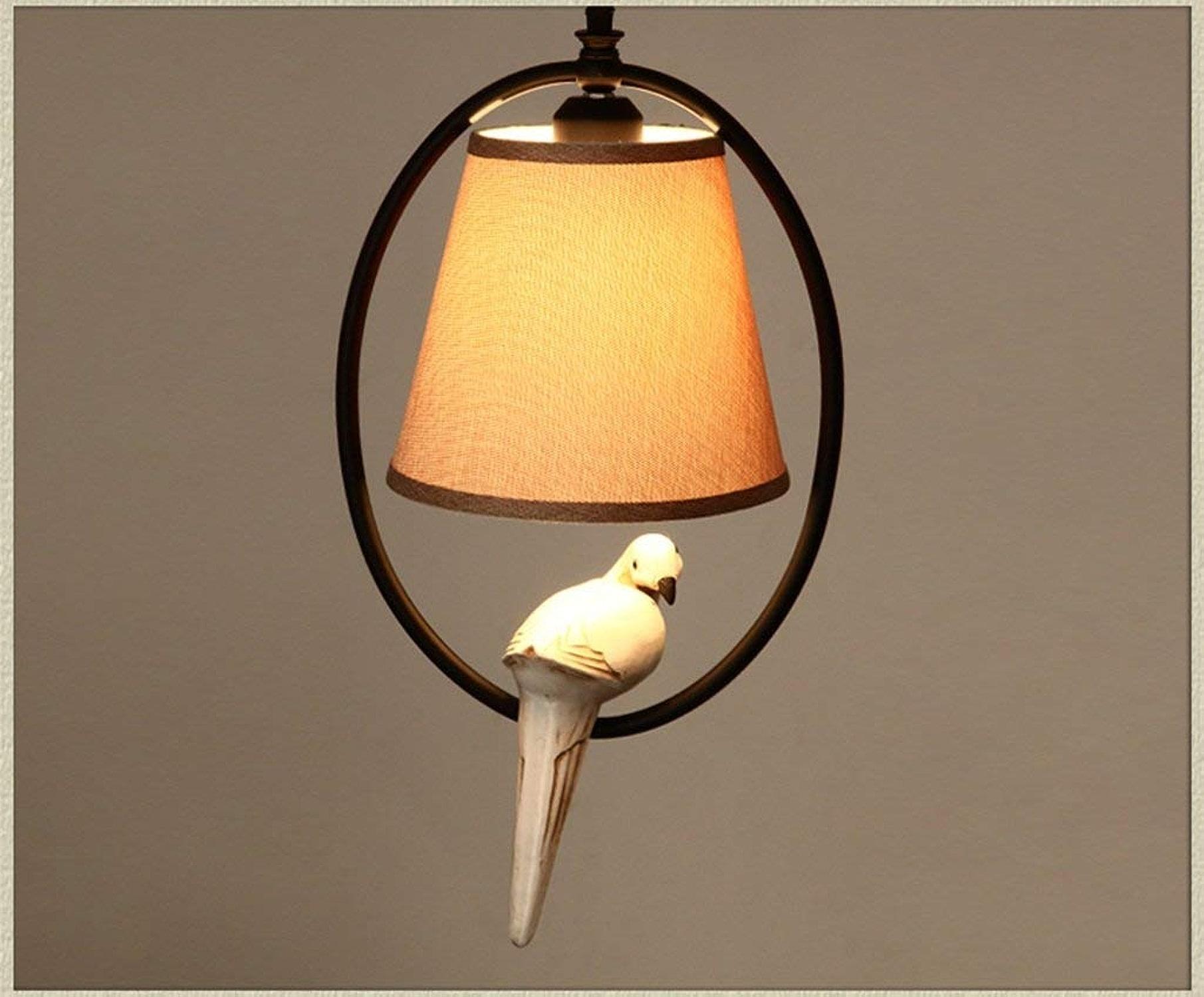 American village exquis salon lustre créative de l'allumage de certains oiseaux chambres balcon lustre lustre bed company