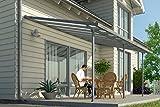 Hochwertige ALU Terrassenüberdachung/Veranda - 420 x 300 (BxT) / Überdachung Palram...