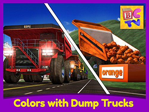 Learn Colors with Dump Trucks - Part 1