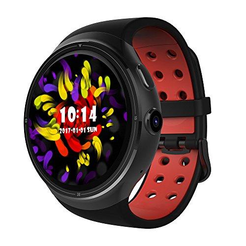 Baodanya Fitness Smartwatch,Neue Z10 Android 5.1 1GB+16GB MTK6580 Quad Core 1.39 Smartwatch mit WiFi GPS SIM für Android iOS, Armbanduhr Uhren Uhr Smart Watch Fitness Uhr für Herren Damen
