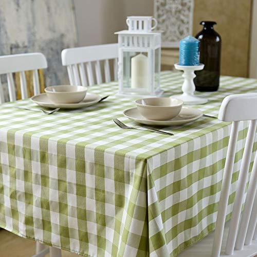 Flashing Nordic Plaid tafelkleed stof tafelkleed tafelkleed stof katoen linnen klein fris rechthoekig modern minimalistisch