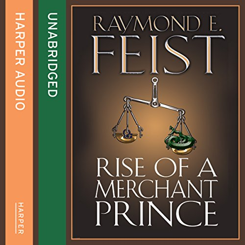 Rise of a Merchant Prince audiobook cover art