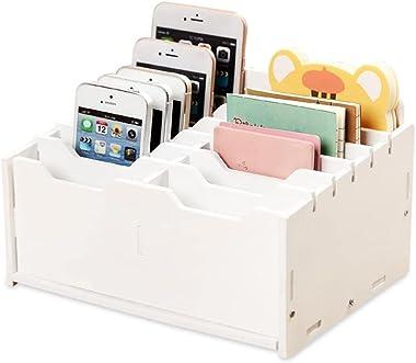 Storage Chests Mobile Phone Storage Box Mobile Phone Storage Box Desktop Multi-Cell Organizer Box Repair Accessories Storage